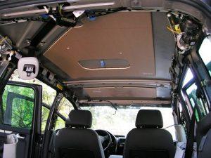 lecteur dvd plafonnier voiture installation