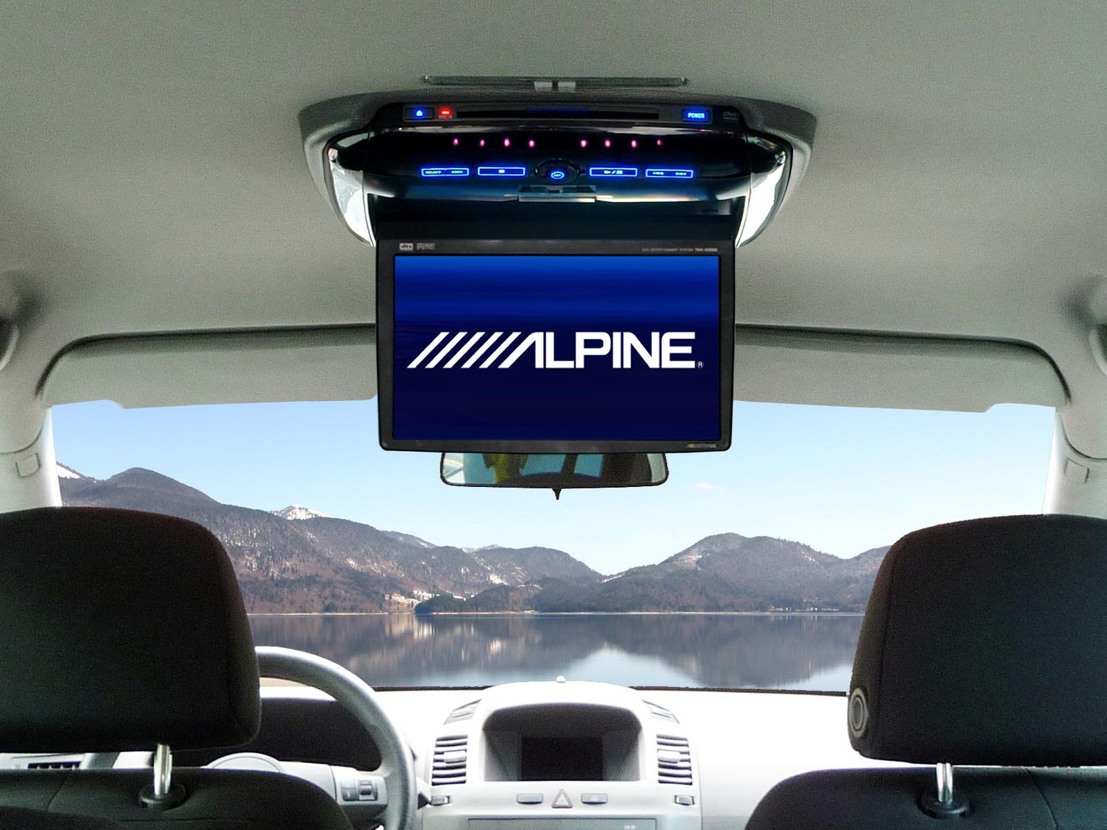 lecteur dvd voiture plafonnier