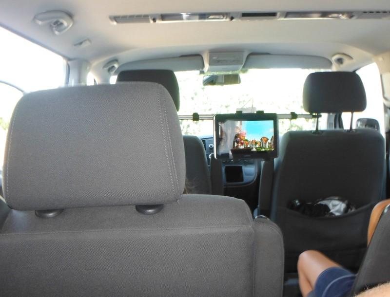 lecteur dvd central voiture