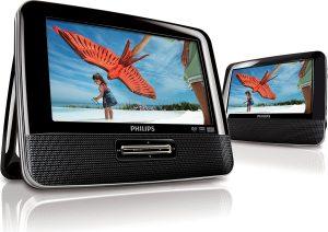 lecteur dvd de voiture philips double écran PD7022-12