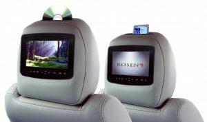 lecteur DVD voiture haut de gamme